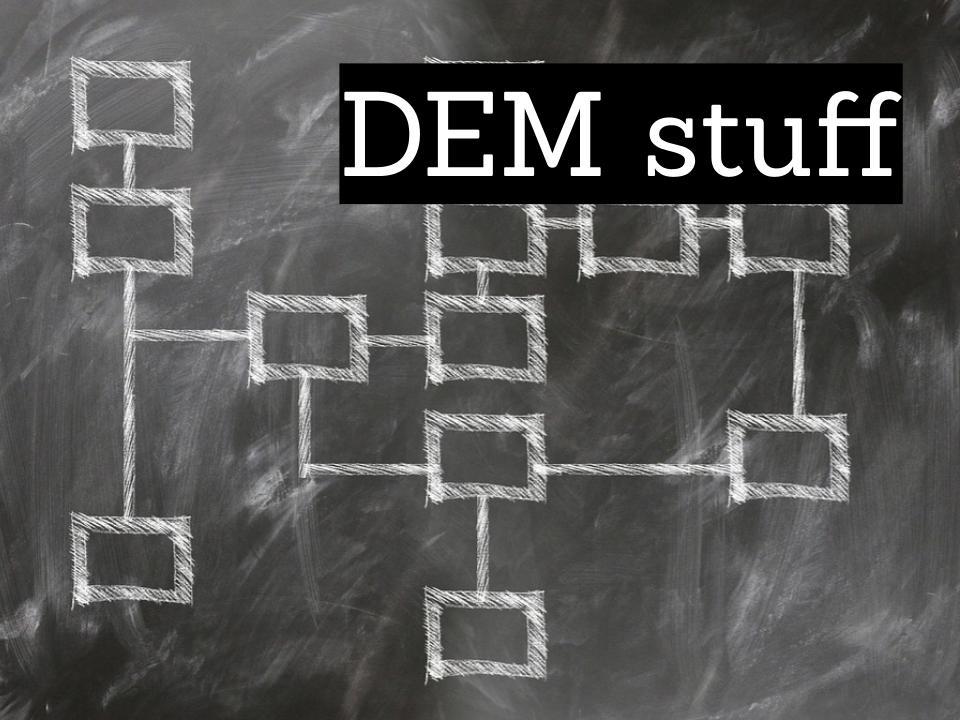 DEM stuff
