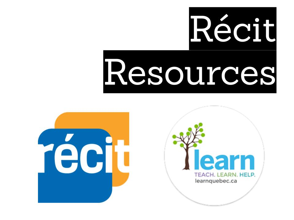 Récit resources for Social Sciences